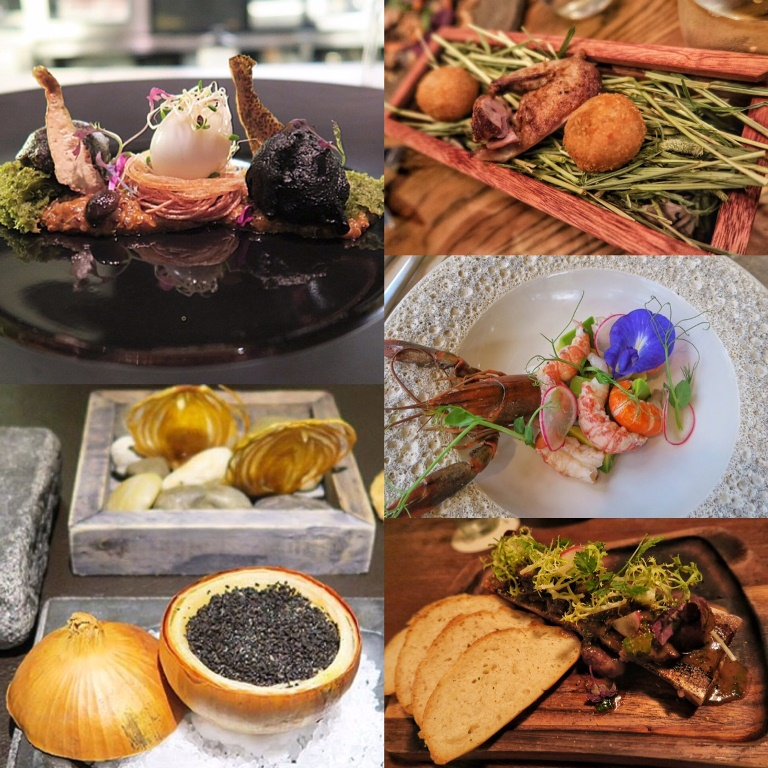 "Just some of my fave ""new"" restaurants to add to my all-time favorites from my last visit to Singapore: Labyrinth, Corner House, Cure, Open Farm Community and Tess Kitchen"