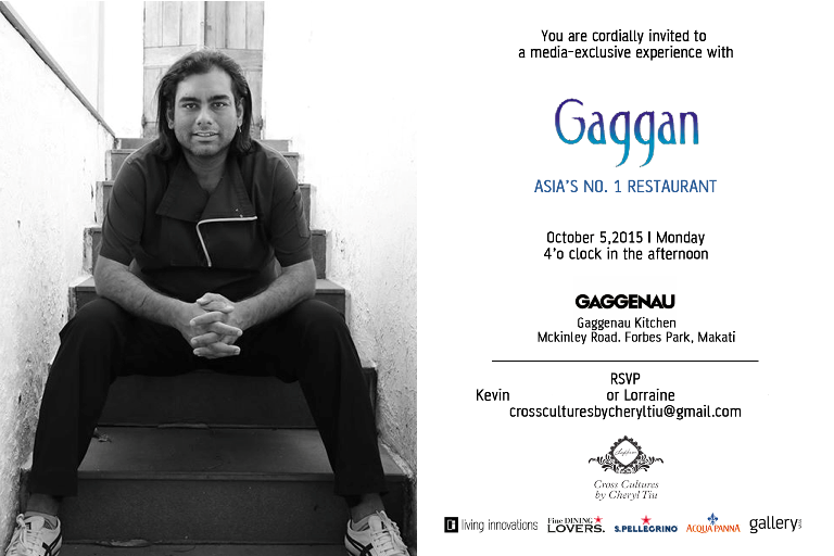 Gaggan x Cross Cultures- Media Exclusive Experience- October 5, 2015 Monday- Gaggenau Kitchen