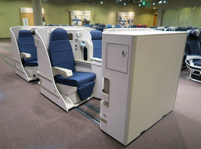 Boeing Dreamliner Gallery- Seats Prototype 2- Cathay Pacific-Boeing Delivery Flight