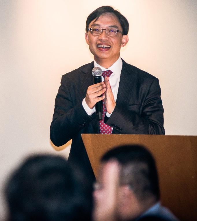 James Tong, Cathay Pacific Director for Corporate Affairs