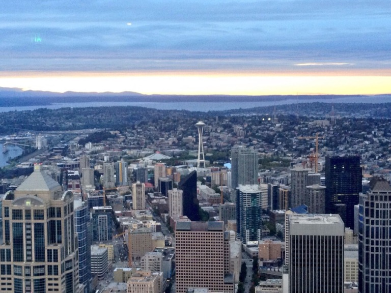 View of Seattle from Columbia Tower
