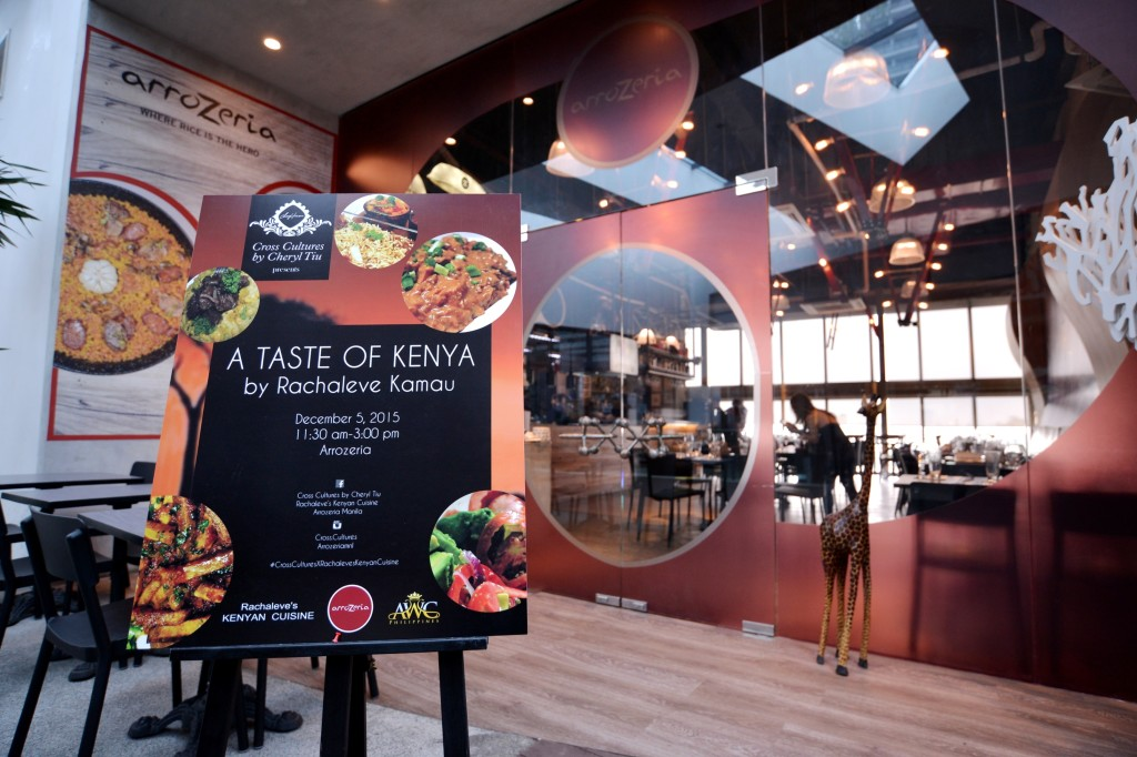 quality design 7ec16 5d43e Our Cross Cultures x Rachaleve s Kenyan Cuisine pop-up brunch was held at  Arrozeria at Century City Mall. They ve just opened a second branch at High  Street ...