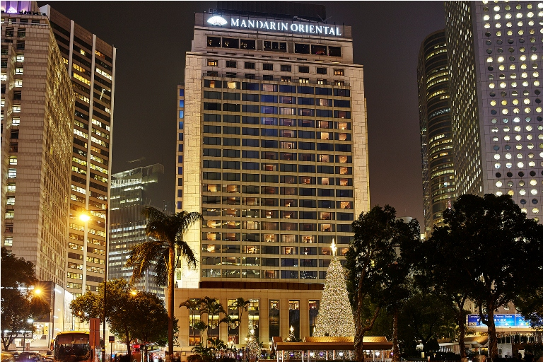The Mandarin Oriental on 5 Connaught Road is one of the most iconic landmarks in Hong Kong. (Photo courtesy of Mandarin Oriental Hong Kong)