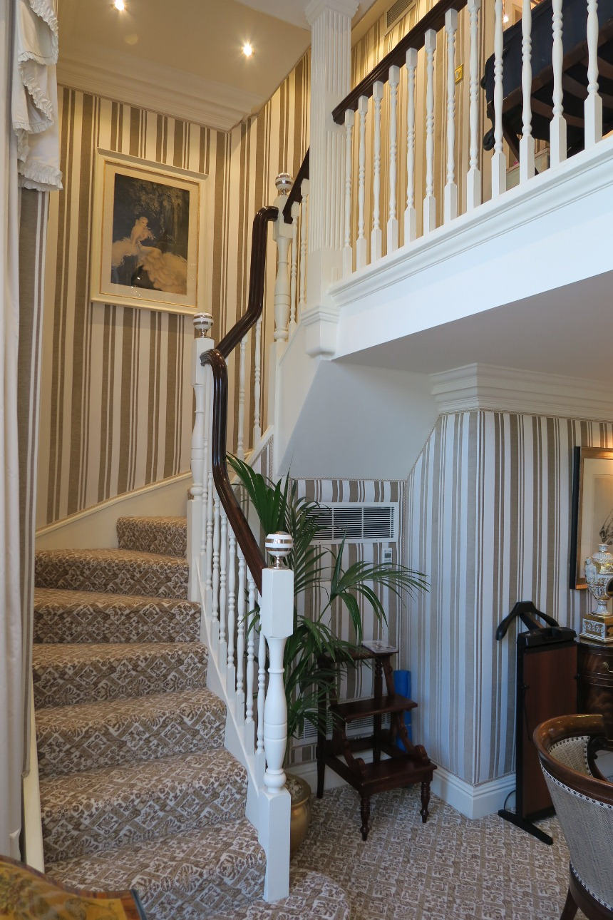 Milestone Hotel London- Kensington Gardens Suite Staircase