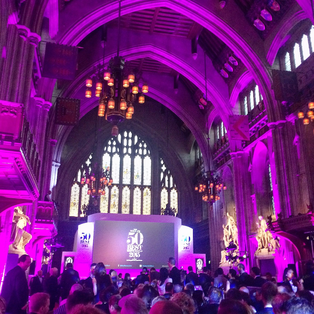 World's 50 Best 2015 Awards Ceremony at The Guildhall in London
