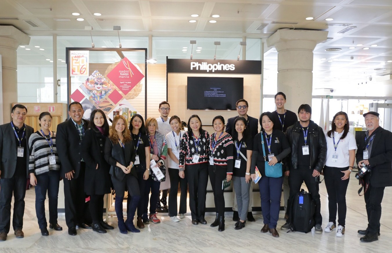 Philippine Delegation- Madrid Fusion 2016