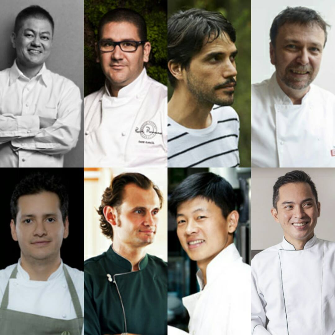 These amazing chefs visiting from overseas will be cooking in Manila this April 2016: Yoshihiro Narisawa, Dani Garcia, Virgilio Martinez, David Thompson, Jorge Vallejo, Kevin Cherkas, Jungsik Yim and Noel dela Rama