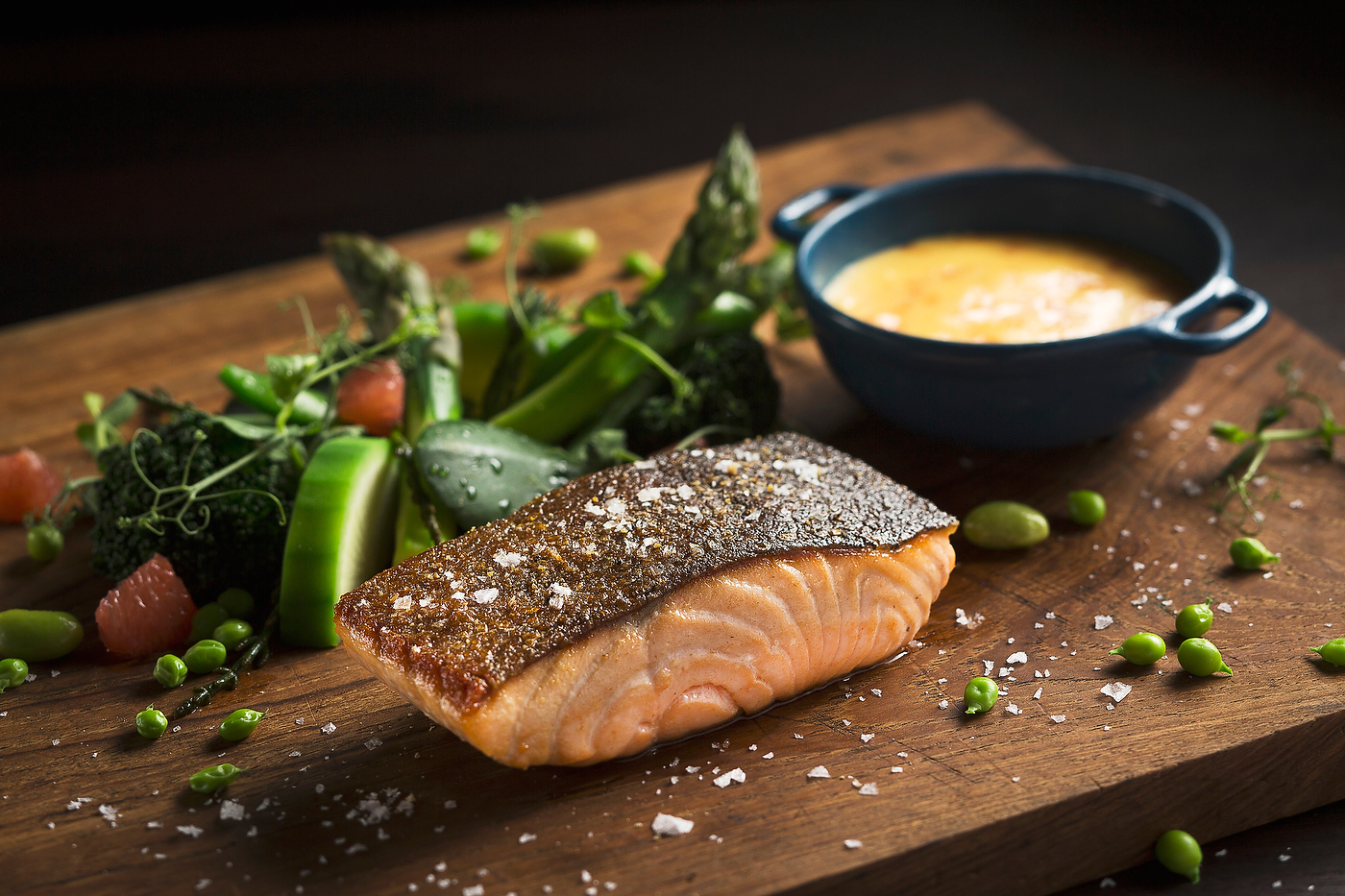 This Tasmanian Salmon Fillet A La Plancha is one of their main courses (Photo courtesy of Intercontinental Singapore)