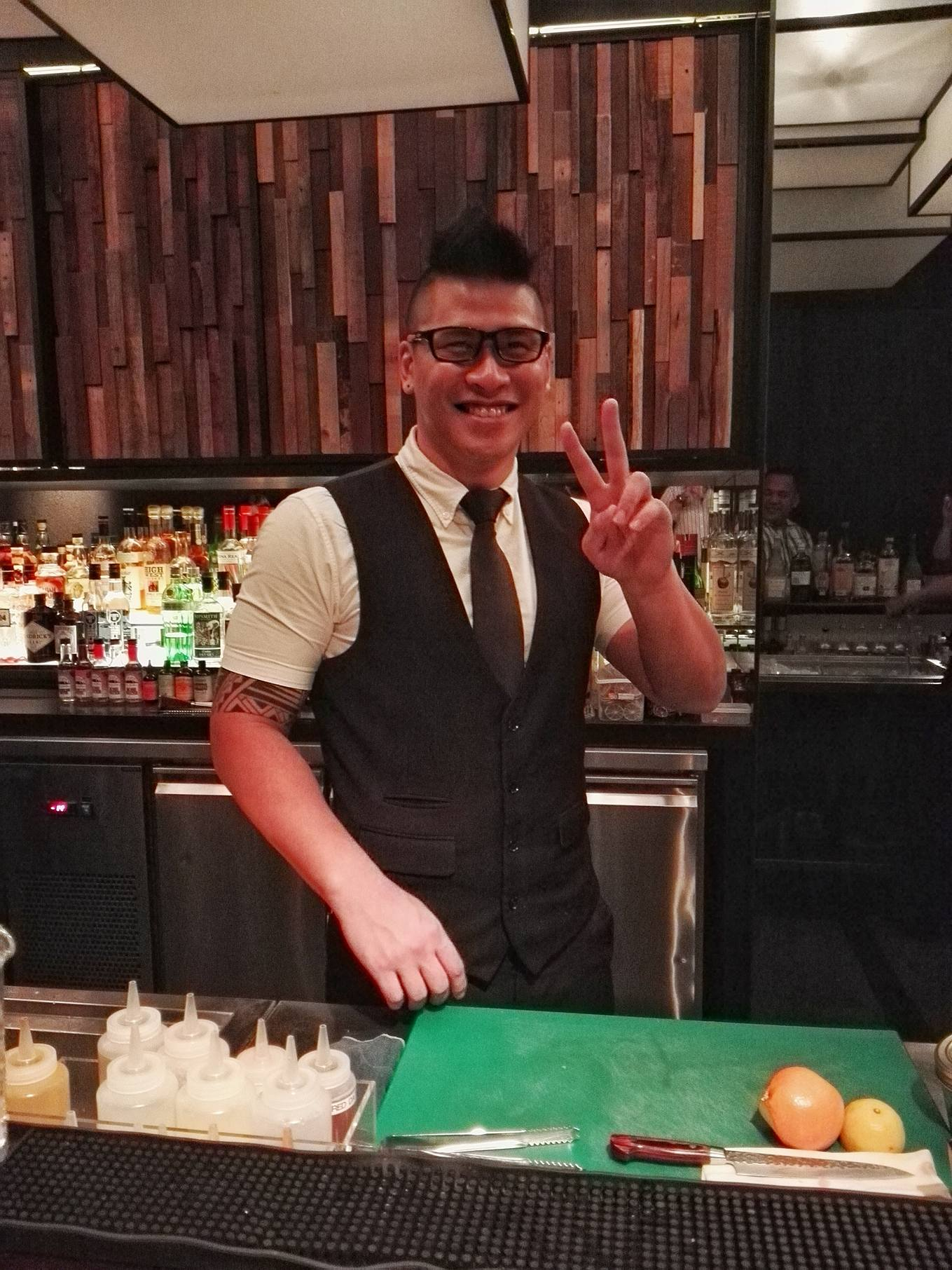 Meet Johan Foong of Horse's Mouth in Singapore. He's in Manila to craft the cocktails for Uma Uma Philippines at SM Conrad