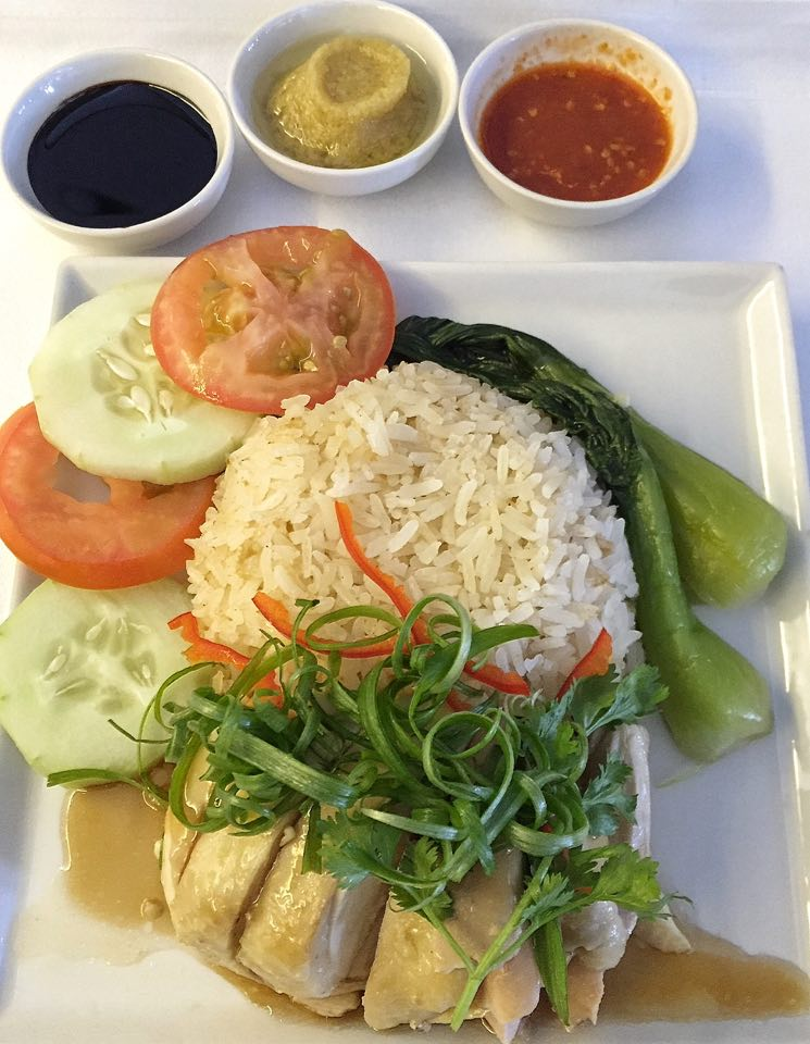 Chicken Rice- Book The Cook- Singapore Airlines Business Class