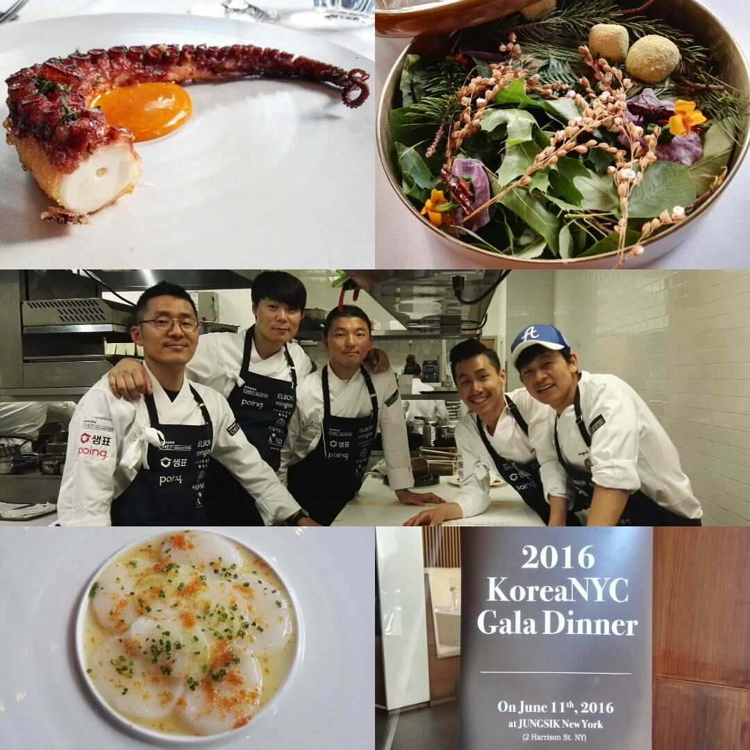 KoreaNYC Gala Dinner at Jungsik in Tribeca, New York City- World's 50 Best 2016