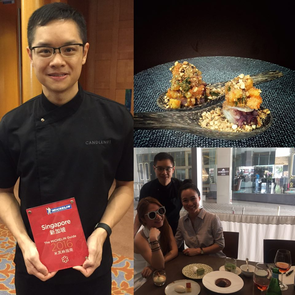 Malcolm Lee- Candlenut- One Michelin Star- Michelin Singapore 2016