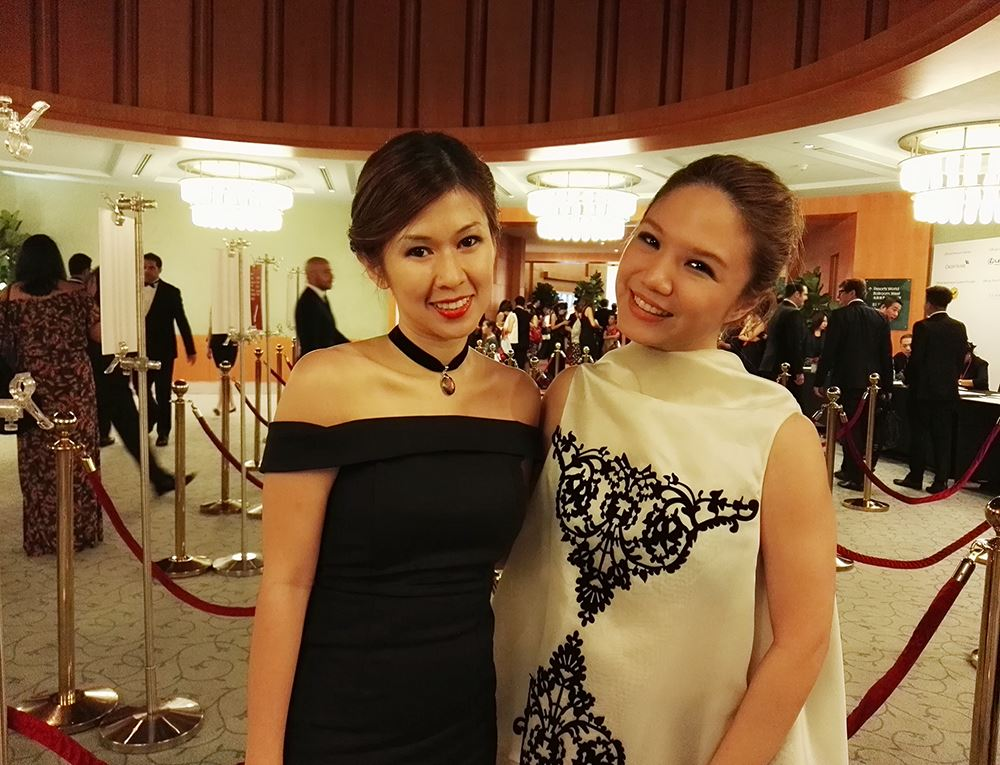 With my dear friend, the lovely Michelin digital lifestyle editor Debbie Yong. So proud of you dear!!