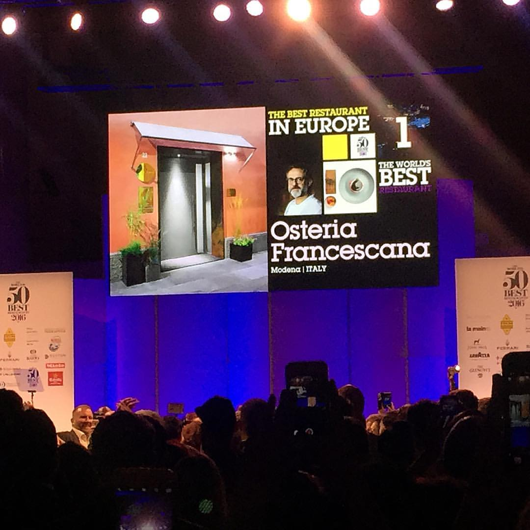 Osteria Francescana- World's Best Restaurant for 2016
