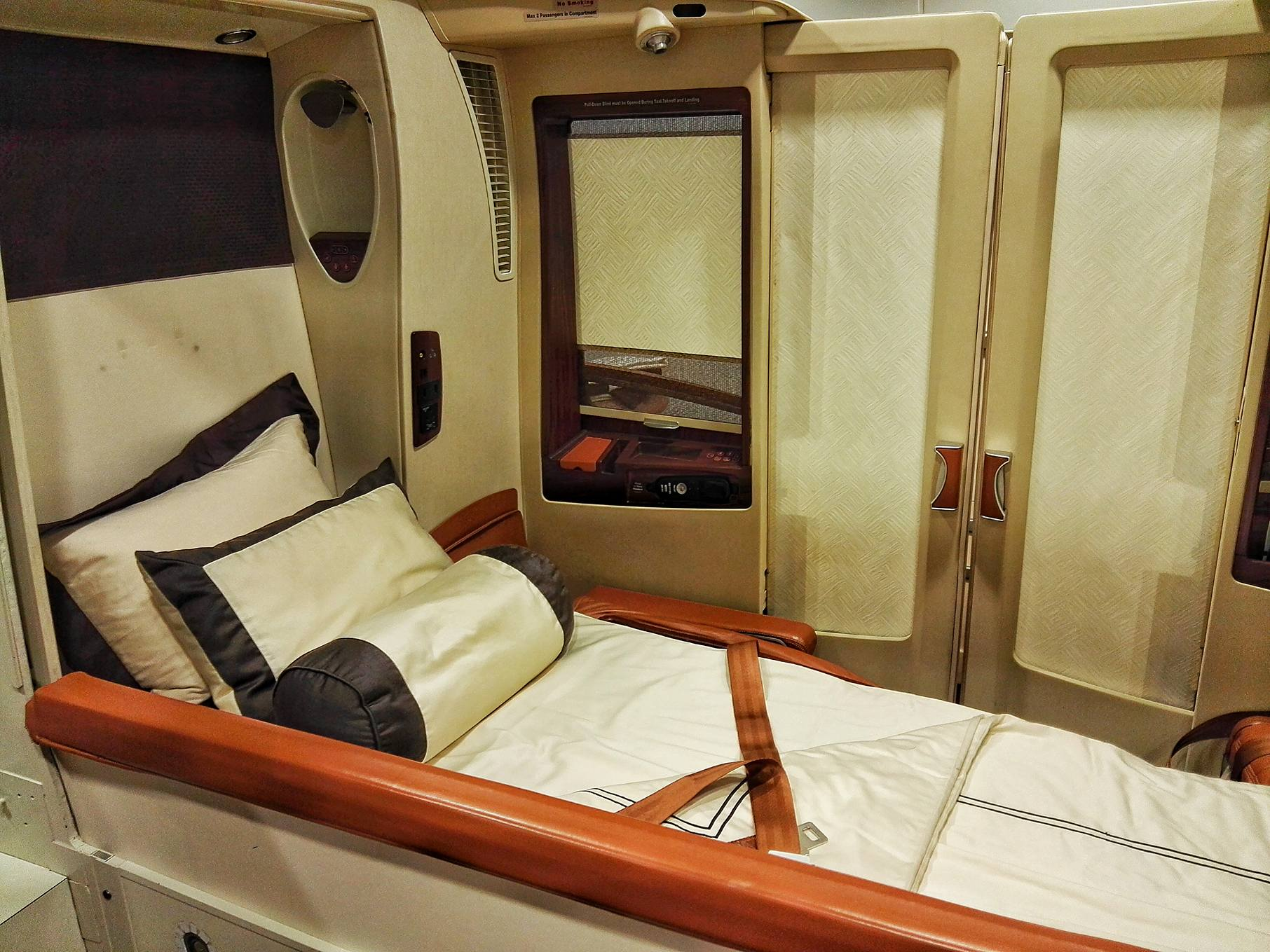Singapore Airlines Training Center- Mock Cabin Suites