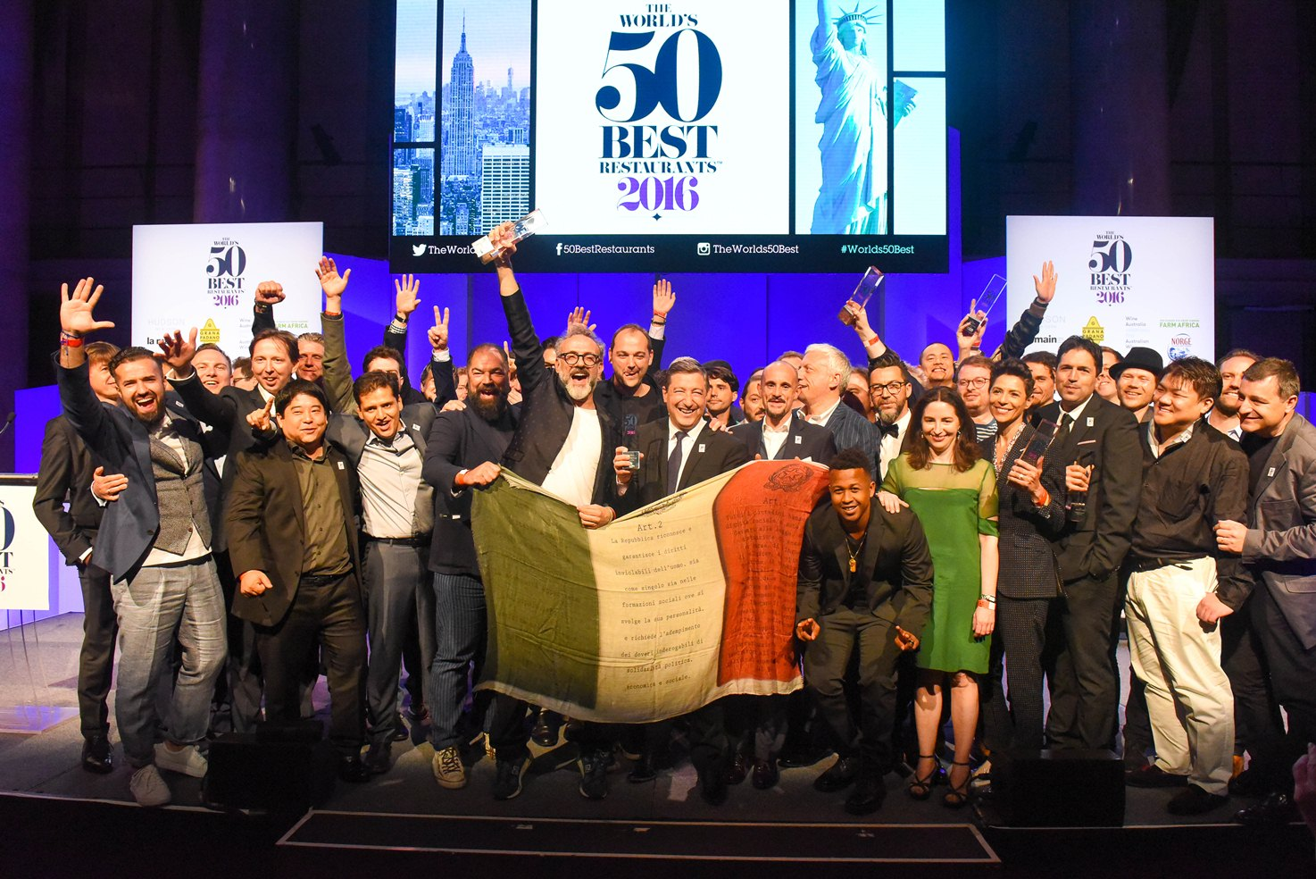The World's 50 Best Chefs 2016