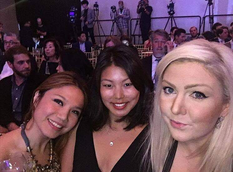 World's 50 Best 2016 Cipriani Wall Street, New York City- Cheryl Tiu, Sofie Lisby, Zoe Bowker