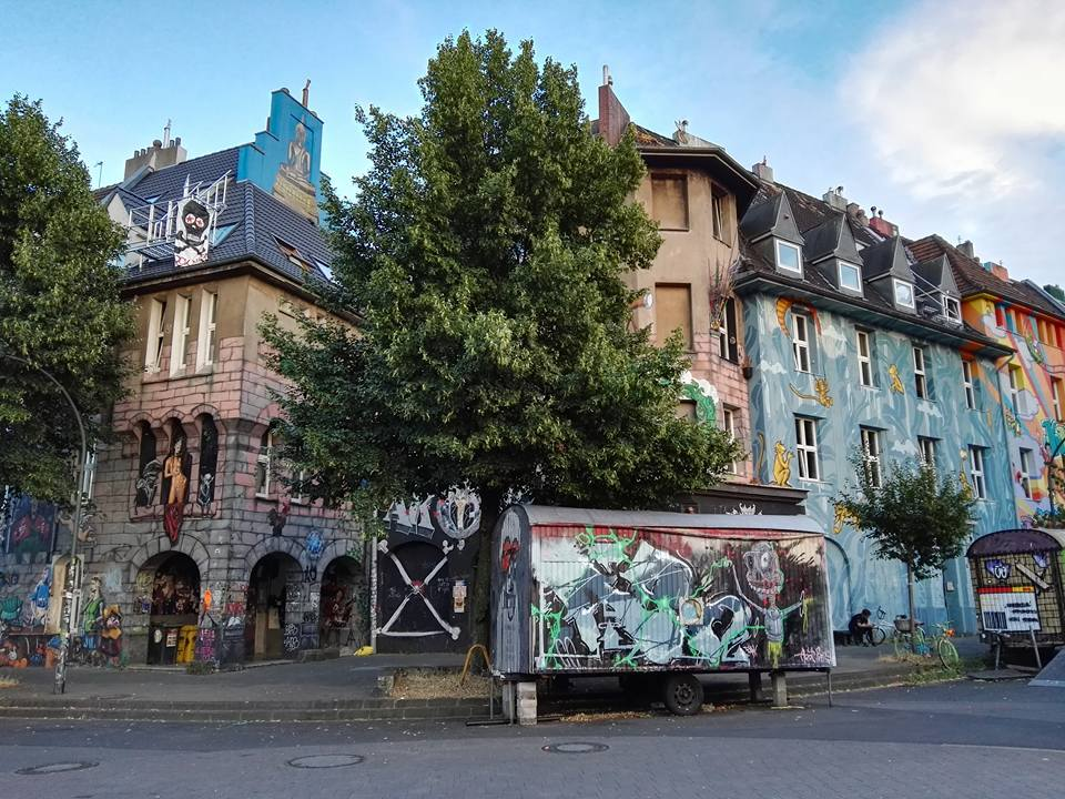 Kiefernstrasse- Graffiti Houses- Dusseldorf, Germany 1