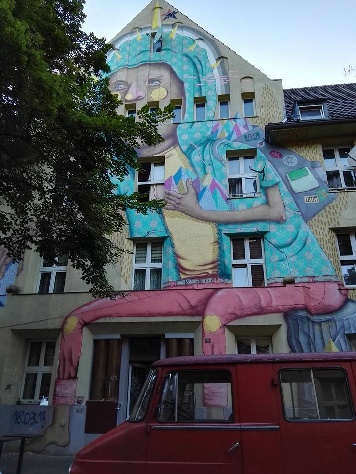 Kiefernstrasse- Graffiti Houses- Dusseldorf, Germany 2