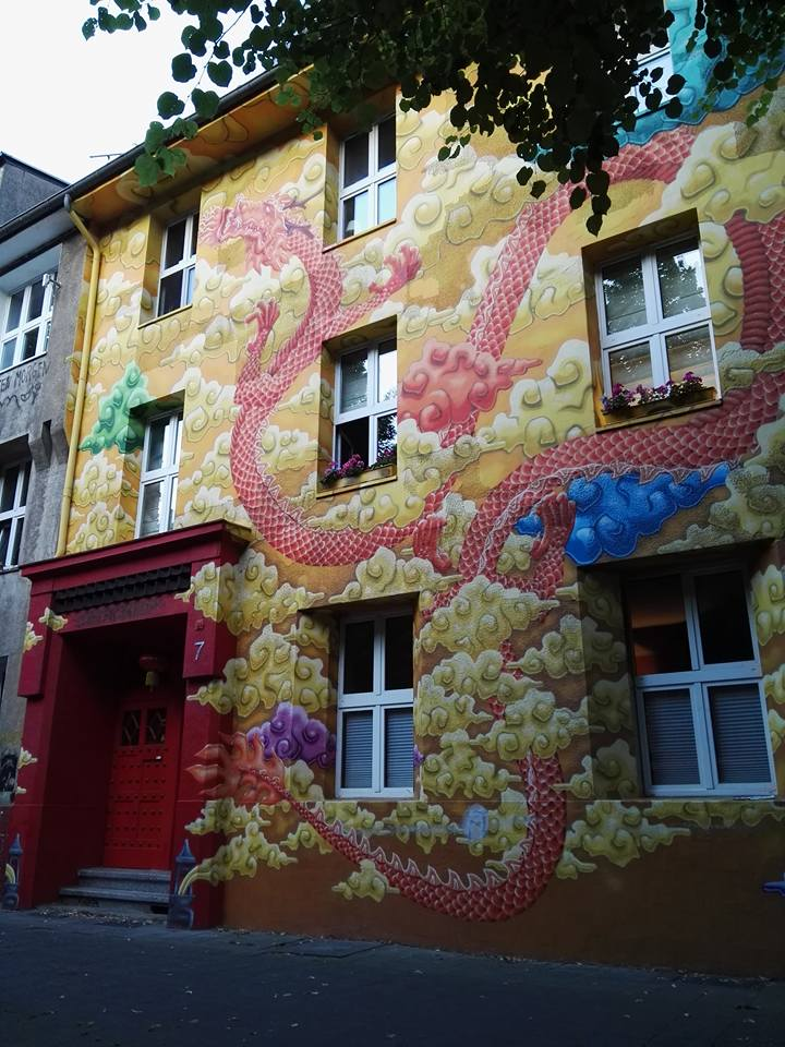 Kiefernstrasse- Graffiti Houses- Dusseldorf, Germany 3
