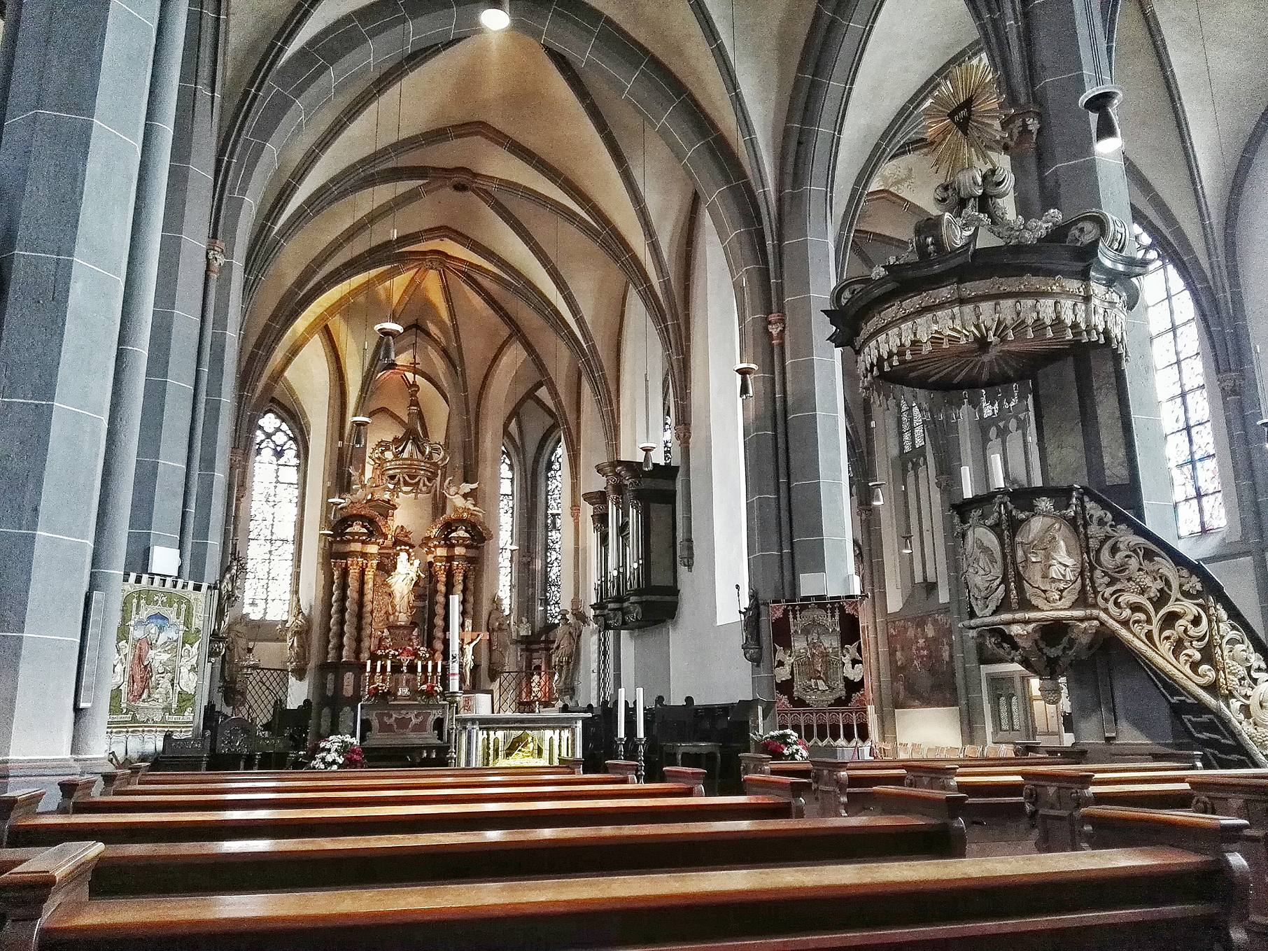 St. Lambertus Church- Roman Catholic- Dusseldorf, Germany