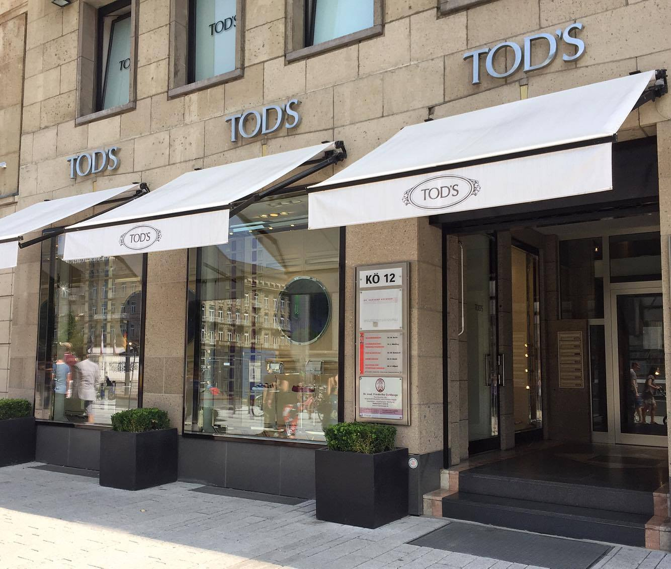 Tod's Boutique at Konigsallee in Dusseldorf, Germany