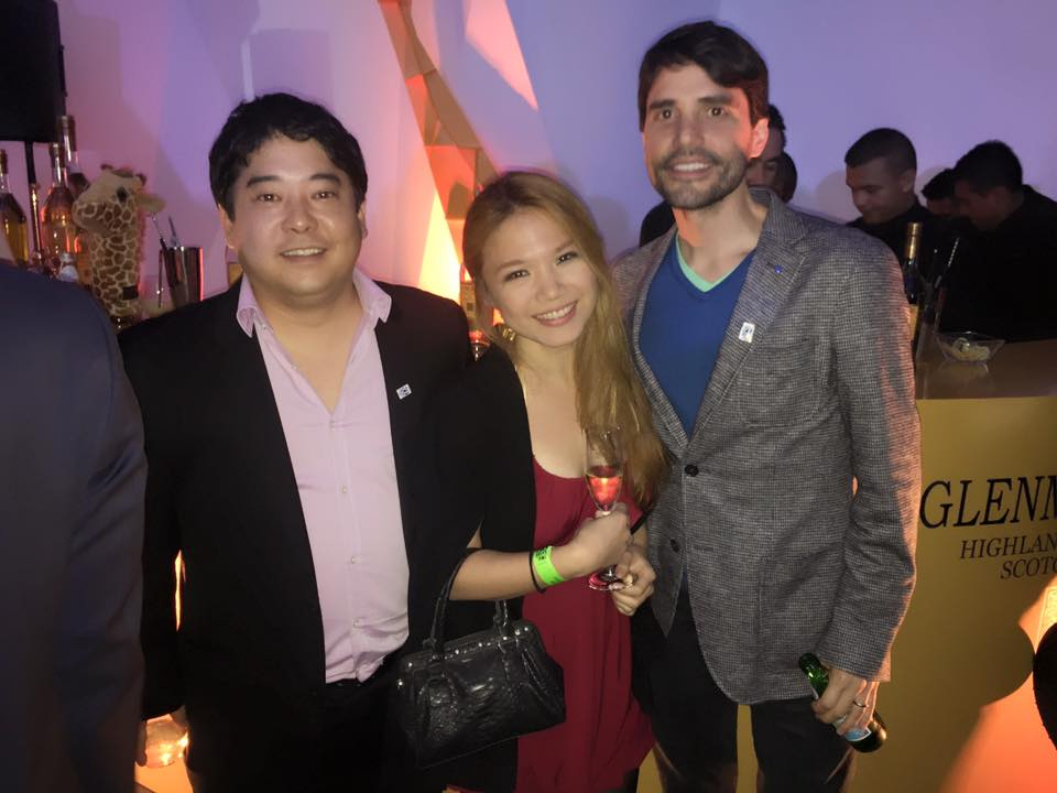 At the recently concluded Latin America's 50 Best Restaurants 2016 awards ceremony in Mexico City: Mitsuaru Tsumura of Maido in Lima, Peru, #2 Restaurant in Latin America for 2016, Cheryl Tiu, and Virgilio Martinez of Central in Lima Peru, #1 Restaurant in Latin America for 2016 (for the 3rd year now!)
