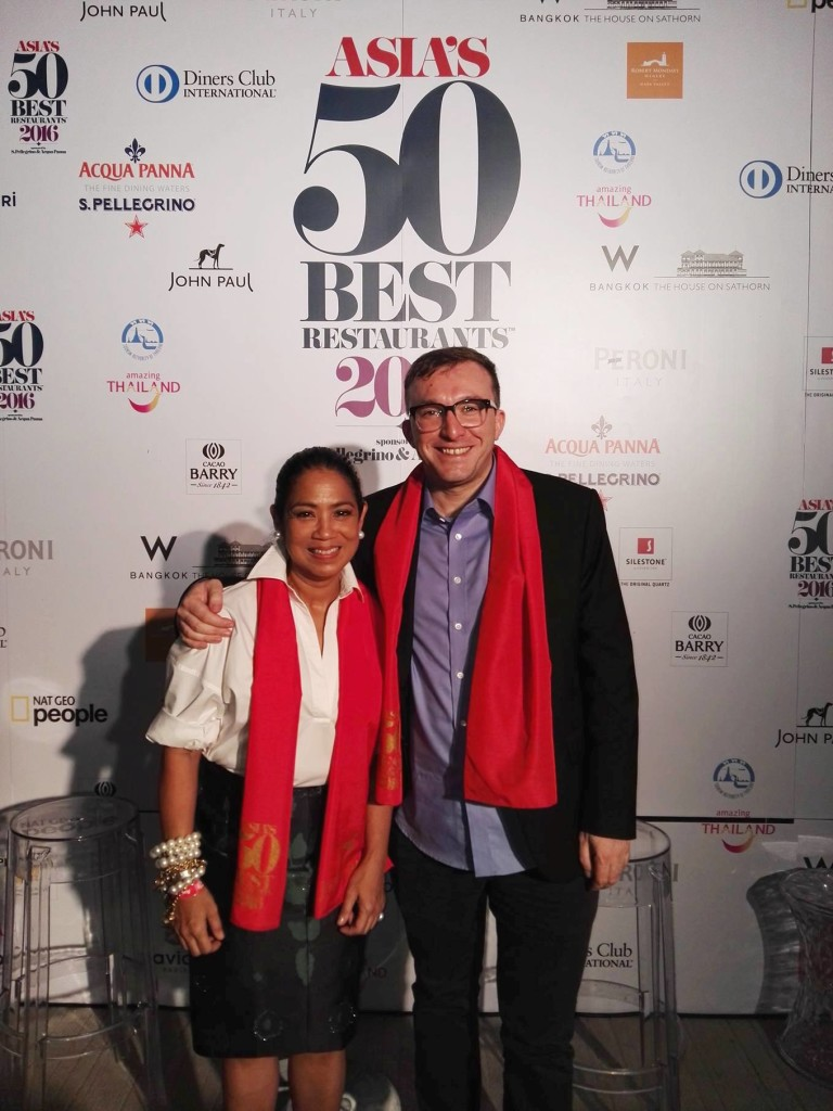 Whoohoo, Philippines represent at the Asia'50 Best Restaurants awards 2016!! Margarita Fores as Asia's Best Female Chef and Gallery Vask by chef Chele Gonzalez on the no. 39 spot on the list!