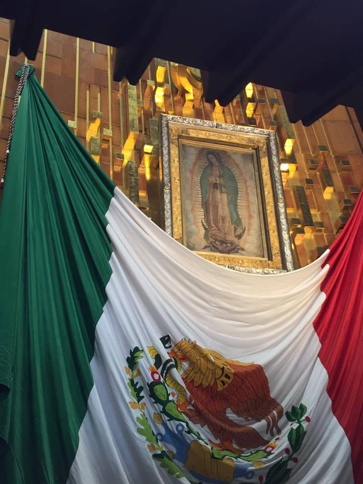 Seeing the original Our Lady of Guadalupe image up close in Mexico City.. incredible right?!