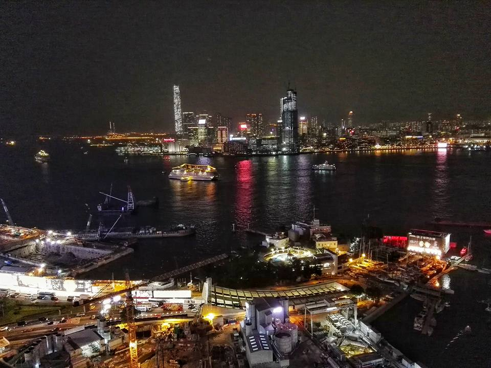 When I'm in Hong Kong, I usually stay in Causeway Bay, and being able to inhale this view of Victoria Harbour of the Hong Kong neighborhood I spent a lot time in was precious.