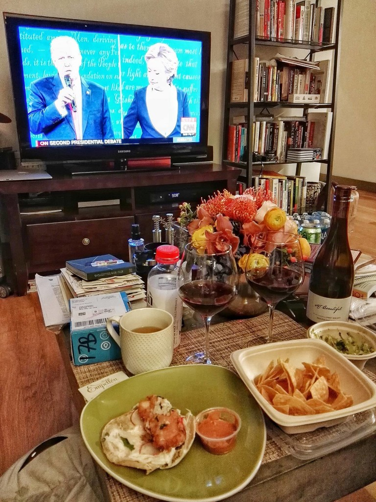 Being in America during the US Presidential elections and following it all (I made sure to be home or where there was a TV to watch all 3 debates!) was something else