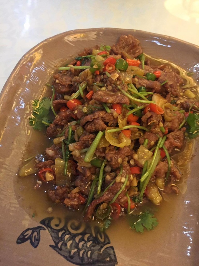 Fu Yuan- Chinese Restaurant- Gamboa Street- Legaspi Village- Makati- Shredded Beef with Pepper