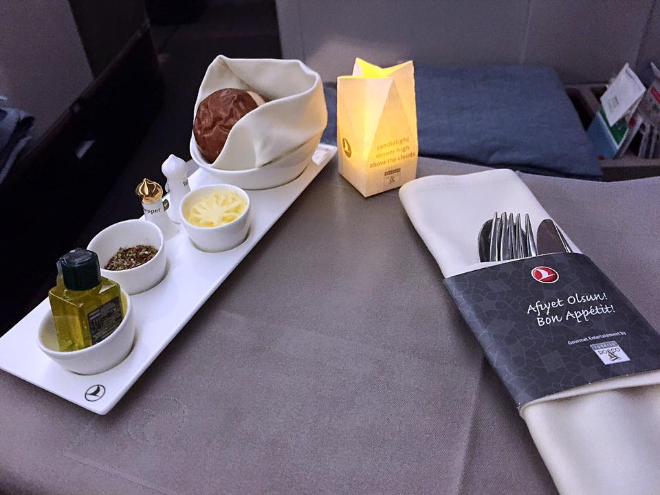 Turkish Airlines Business Class- Manila to Istanbul