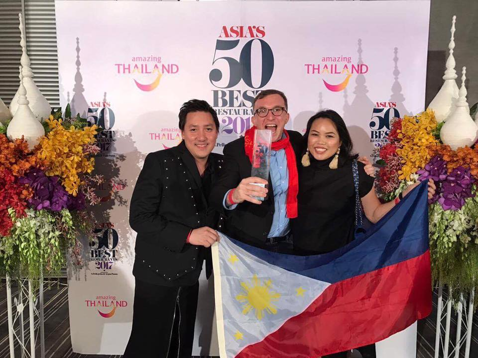 Gallery Vask- Best Restaurant in the Philippines= Asia's 50 Best 2017