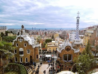 Parc Guell is one of my favorite parks in the world and my favorite by Antoni Gaudi. It will always represent Barcelona to me