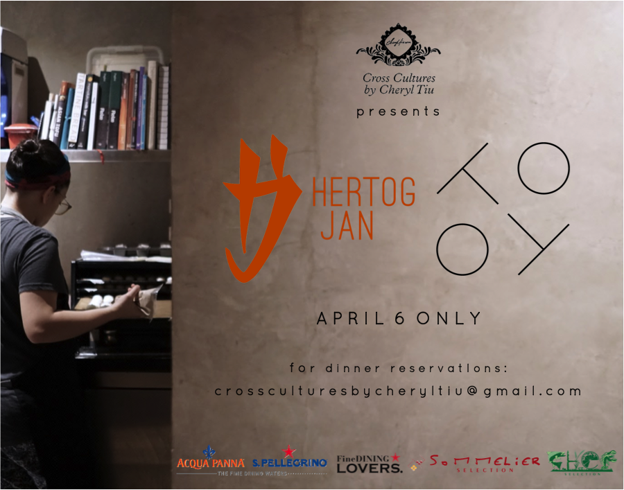 Cross Cultures Presents Hertog Jan and Toyo in Manila- April 6, 2017- Madrid Fusion Manila