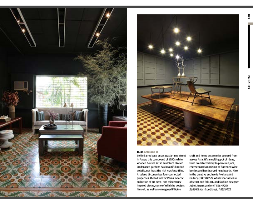 Artelano 11 in Wallpaper City Guide Manila