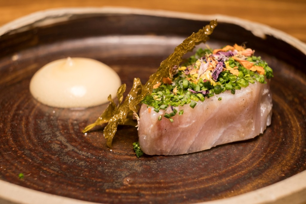 Toyo's Lightly Grilled Mackerel in Grass-Fed Butter