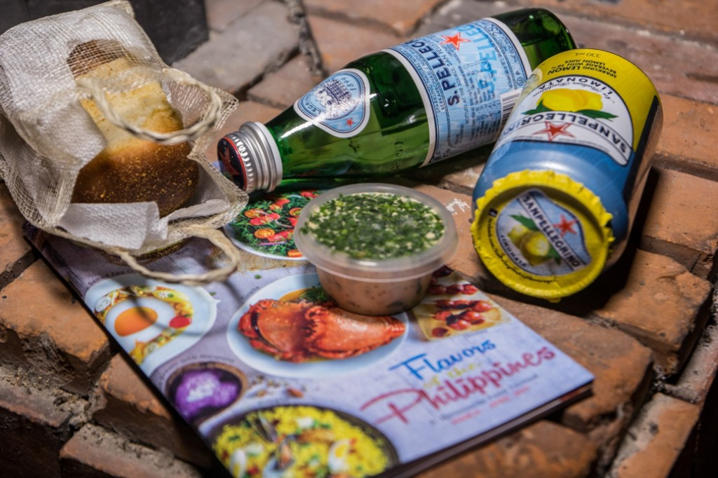 giveaways at cross cultures-hertog jan-toyo-san pellegrino