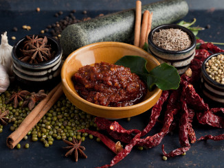 Gourmet products from around the world are showcased at Speciality Fine Food Asia this July 2017 in Singapore, like these artisanal spice pastes from Batu Lesung Spice Co., which doesn't use preservatives, enhancers and fillers. (Photo courtesy of Batu Lesung Spice Co.)