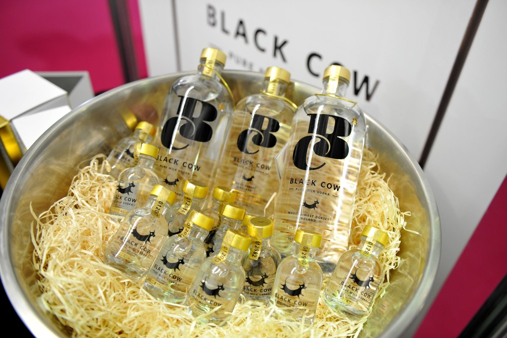 Black Cow is the world's first pure milk vodka ow's Pure Milk Vodka is the worlds first and only vodka made entirely from the milk of grass grazed cows producing a uniquely smooth and creamy vodka.