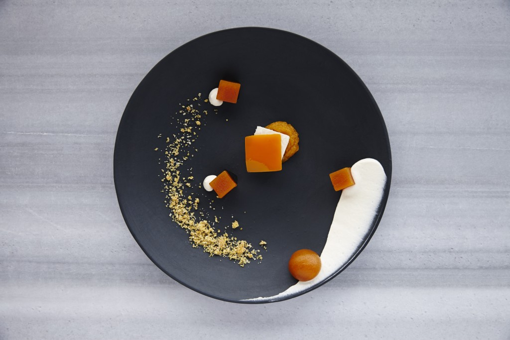 Citir Kabak: Crispy pumpkin, molases cream, pumpkin puree, pumpkin gelee, tahini parfait (Photo courtesy of Neolokal)