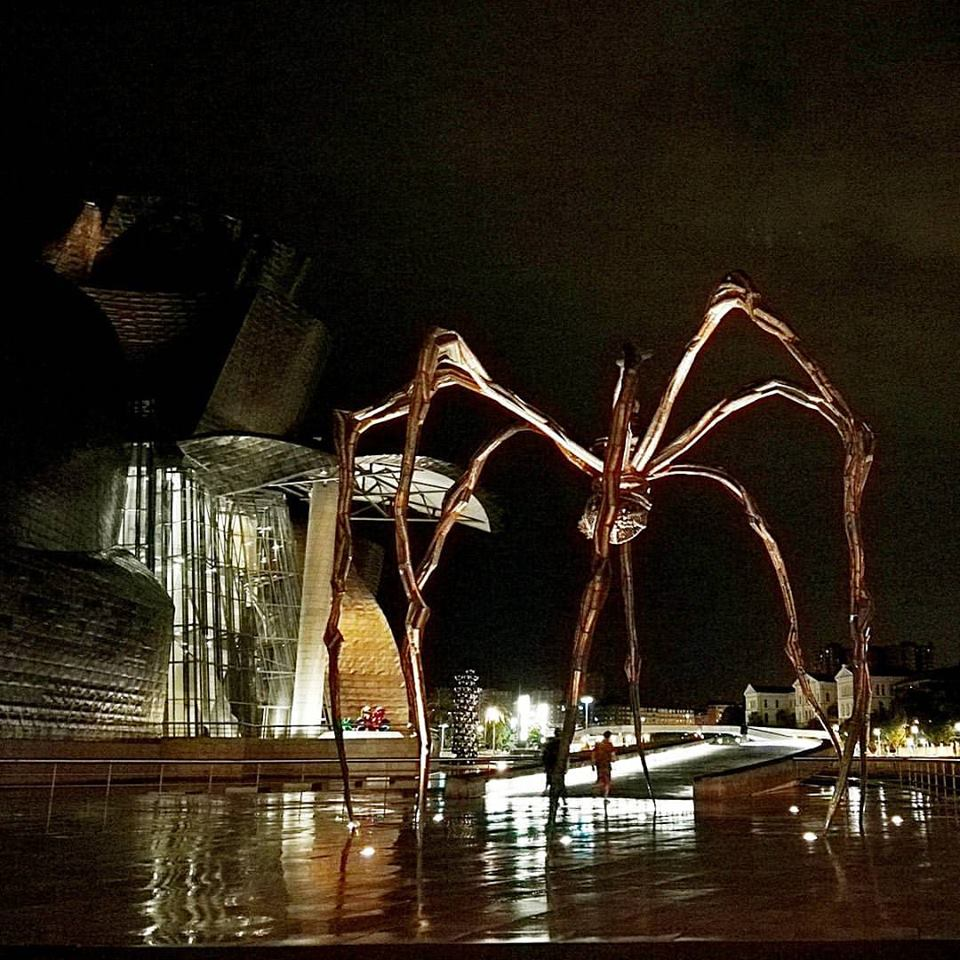 Thank you so much Nerua and Guggenheim Museum Bilbao, and congratulations!! (PS The restaurant is right next to the Maman spider by Louise Bourgeois)