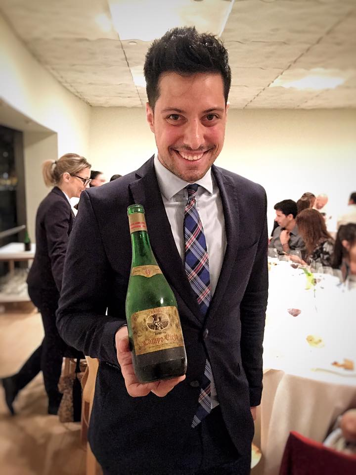 Nerua sommelier Ismael Alvarez is a gem. He never fails to thoroughly explain the backgrounds of the wines he choses- and why he does (they always have to have history). This is a 1964 Campo Viejo Reserva which they opened in honor of Joan Roca's birthdate.