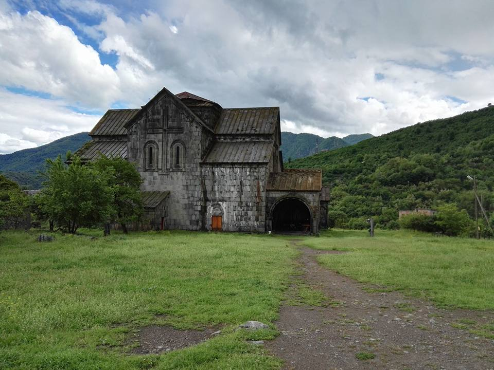 Akhtala, which has a 13th-century church, is the only one among the three that's not a UNESCO Heritage site but it was probably my favorite. You'll see inside. (Photo by Cheryl Tiu)