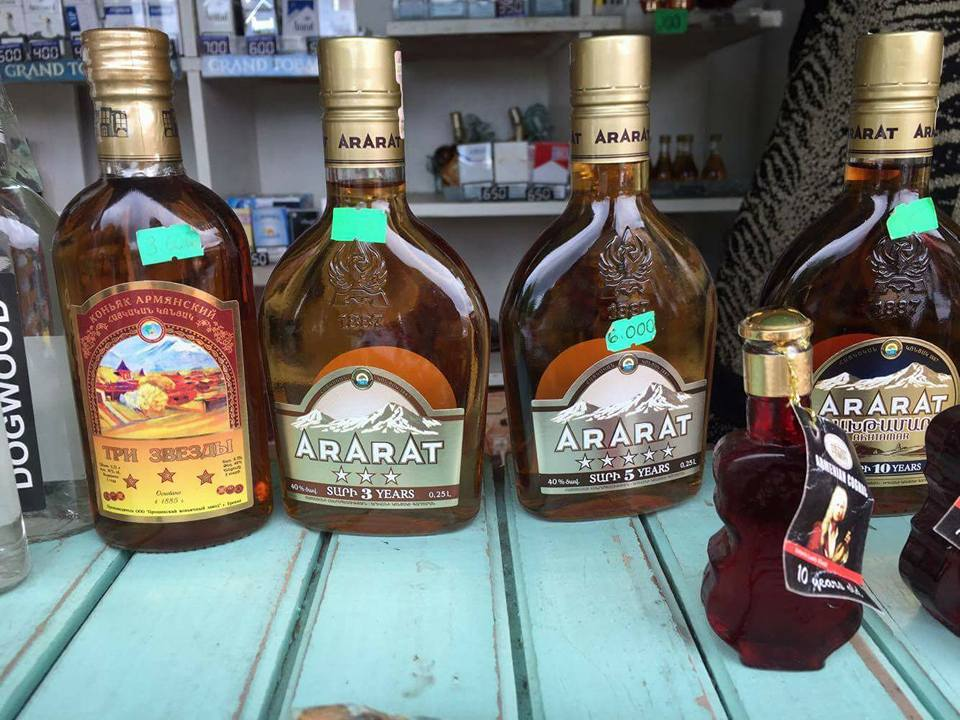 If you can't climb Mt. Ararat, at least you can have some Armenian whiskey :) (Photo by Cheryl Tiu)