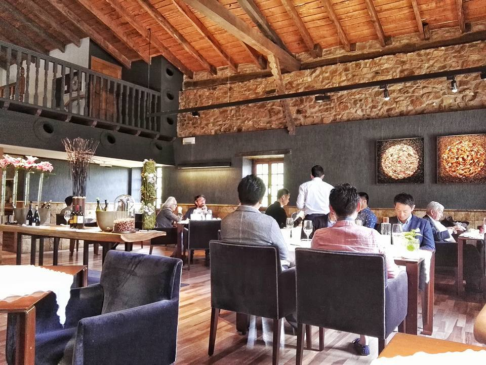 Inside the Asador Etxebarri dining room (Photo by Cheryl Tiu)
