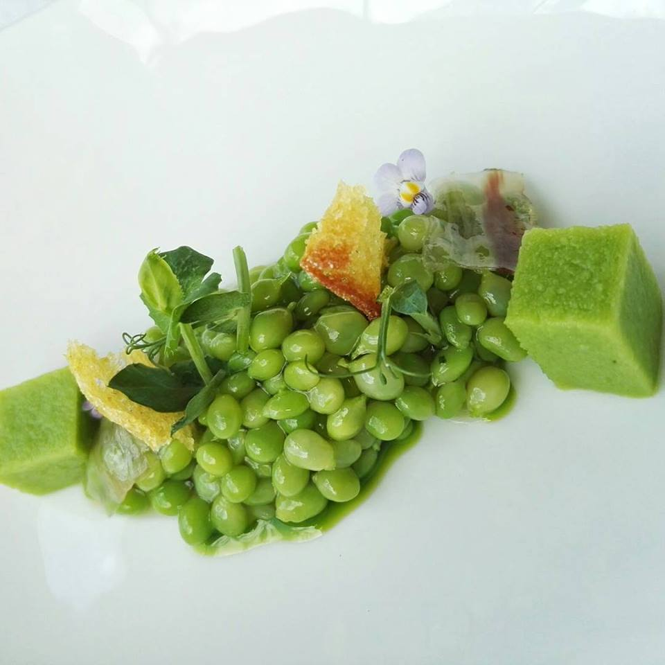 The seasonal, caviar-like Green Tear Peas (Photo by Cheryl Tiu)