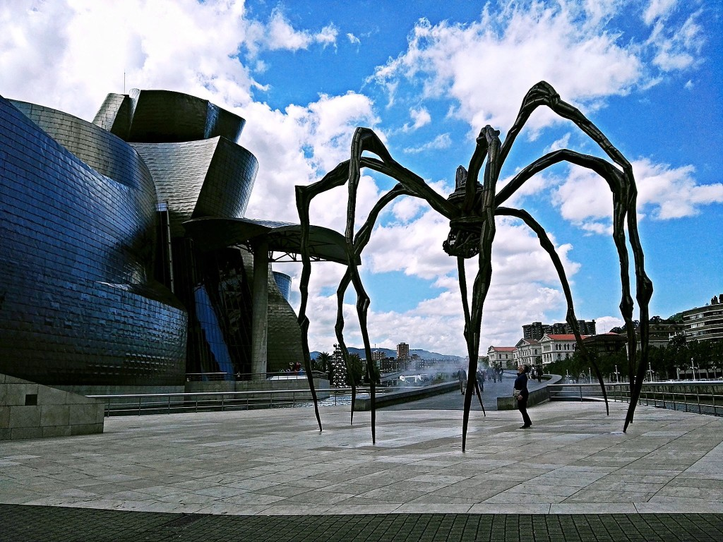 Nerua is located at this part of the Guggenheim Museum Bilbao (Photo by Cheryl Tiu)