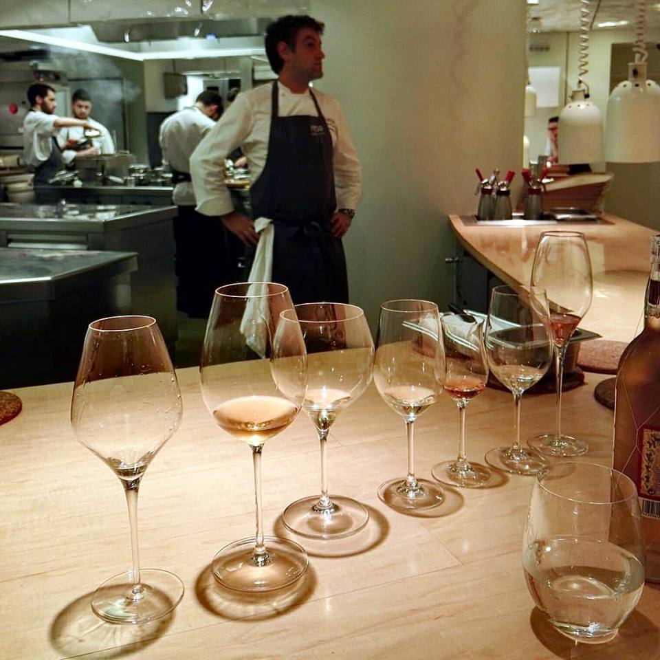 The wine pairing thoroughly and animatedly conducted by sommelier Ismael Alvarez is highly recommended at Nerua (Photo by Cheryl Tiu)